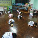 กิจกรรมไหว้ครูแผนกอนุบาล ประจำปีการศึกษา 2563